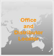 Asian offices and distributors